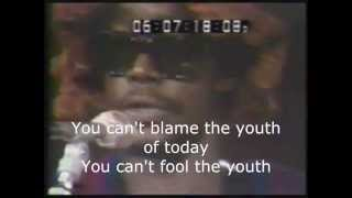 Peter Tosh - You can't blame the youth - Bob Marley & the Wailers (Live/Lyrics)