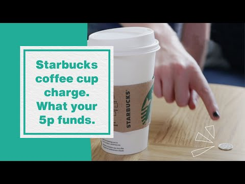 Starbucks coffee cup charge - what your #5pFunds I Hubbub Vlog