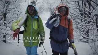 Matthieu and Sam Favret in Chamonix for the Julbo White Session