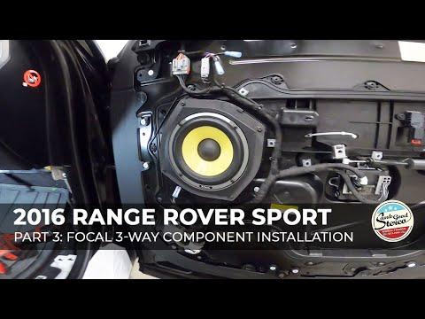 2014-2020 Range Rover Sport Custom Speaker Adapters