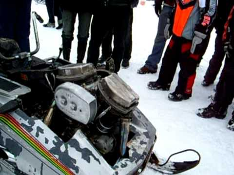 Harley snowmobile