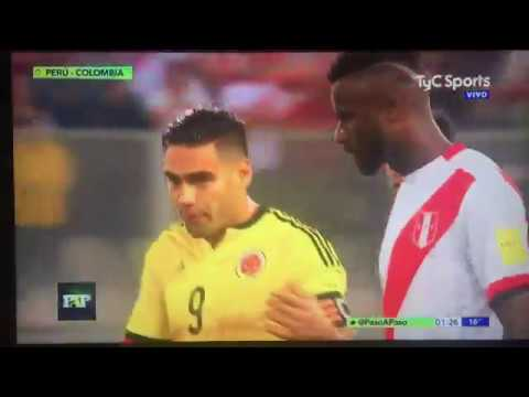 Falcao Caught Match Fixing Against Peru To Qualify For World Cup 2018