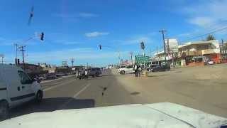 preview picture of video 'Ensenada Baja California Mexico  Maneadero carretera Transpeninsular'