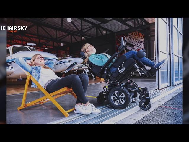 Meyra iChair Sky Standing Wheelchair Video