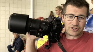 Photographing Indoor Waterpolo with the Nikon 200-500mm f/5.6