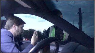 Полиция vs пьяный инвалид за рулем ч1