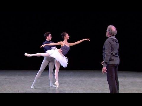 Watch: The Sleeping Beauty in rehearsal