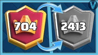 TILT IN LADDER! TOPS WHO CRYES / CLASH ROYALE