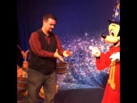 Doing Magic for Mickey Mouse
