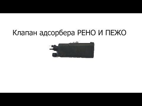 РЕМОНТ КЛАПАНА АДСОРБЕРА ПЕЖО 307, РЕНО СЦЕНИК