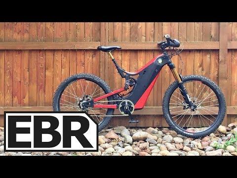 Optibike R15C Carbon Fiber Video Review – $13.9k Superebike, Long Travel, Electric Motocross