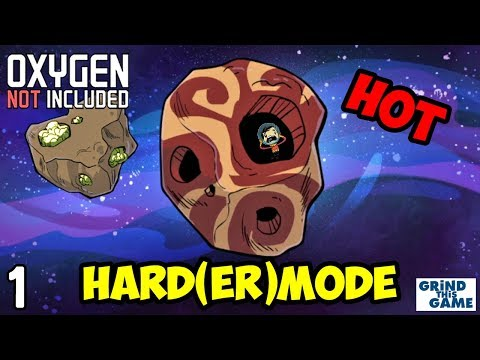 Oxygen Not Included - HARDEST Difficulty #1 - It's HOT (Oasisse) [4k]