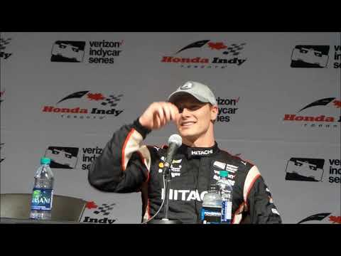 2018 IndyCar Toronto GP Post-Qualifying Press Conference