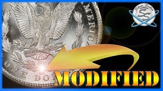 RARE Morgan Dollars w/ Modified Mint Marks!