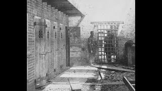 3D Stereoscopic Photos of a Slave Pen in Alexandria During the American Civil War (1860's)