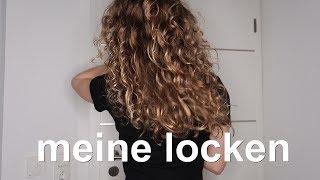 MEINE LOCKEN- 8 Schritte zu definierten Locken || Emma Sophie
