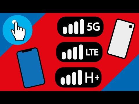 Was sind 4G, 5G und LTE? - Mobilfunkstandards Zusammengefasst!