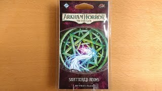 Shattered Aeons SPOILER FREE Unboxing for Arkham Horror The Card Game LCG