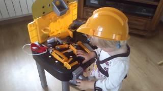 Zabawki dla dzieci stół warsztatowy dla dzieci stół z narzędziami dla dzieci narzędzia dla dzieci