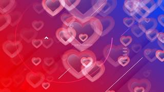 love background | love motion background | 4K heart falling effect video | Love Motion graphic video