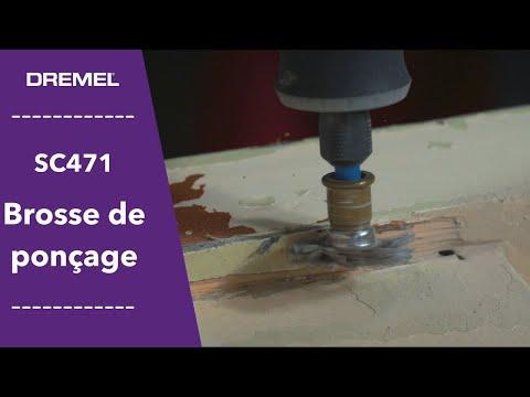 Musique pub Dremel S471 Brosse abrasive grain 36 pour poncer les sculptures    juillet 2021