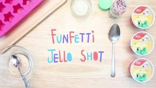 วิธีทำ Funfetti Jello Shot ไอติมรูปดาว น่าอร่อย