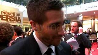 Jake Gyllenhaal at the Prince of Persia premiere in London