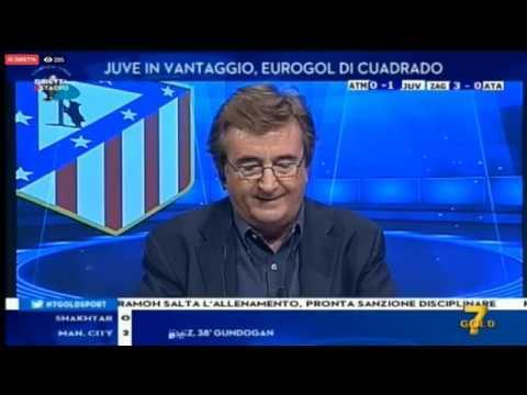 Atletico Madrid-Juventus 2-2 CL FG 1T 18-09-19 Francesco Oppini & Marcello Chirico DS 7G