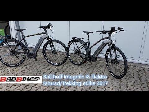 Kalkhoff Integrale i8 Elektro Impulse Evo RS Fahrrad Trekking eBike 2017