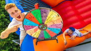 MYSTERY WHEEL CHALLENGE WITH STOVE & RYAN