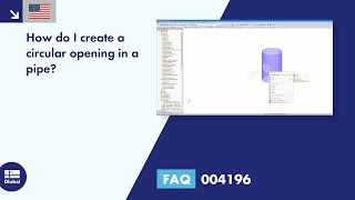 FAQ 004196 | How do I create a circular opening in a pipe?
