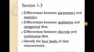 Math 1550  Topics Checklist 1.1, 1.2, 1.3