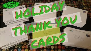 Time to send the Holiday Thank You Cards!!! 💌  How we did it and what it cost. ✉📬📮