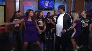 DJ Casper teaches Fox 8 Morning Show team the Cha Cha Slide