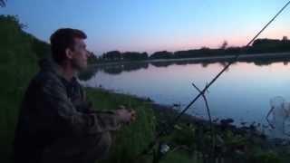 Рыбалка на озере песчаное
