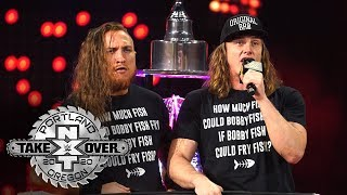 """Riddle leads NXT Universe in """"Fishy"""" sing-a-long: NXT TakeOver: Portland (WWE Network Exclusive)"""