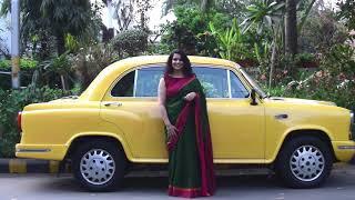 The 100 Saree Pact    Street Style Delhi    Meet Uttara