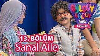 Güldüy Güldüy Show Çocuk 13. Bölüm, Sanal Aile Skeci