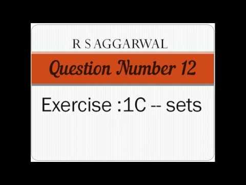 Class 11/Exercise 1C Question number 12/class 11/Anjali Maths