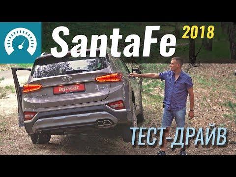 Hyundai  Santa Fe Кроссовер класса J - тест-драйв 2