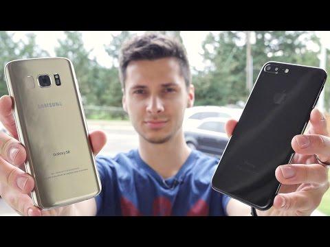 Samsung Galaxy S8 vs iPhone 7 Plus Clones Water, Drop & Gun Test!
