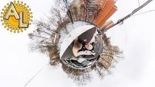 Видео 360 градусов Пробую новую камеру Insta360 Nano