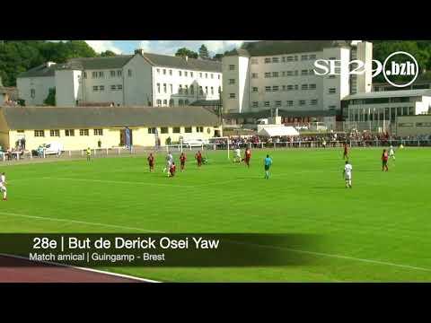 Retour sur les buts des Brestois lors des 2 premiers matches amicaux