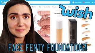Trying $1 Makeup From Wish