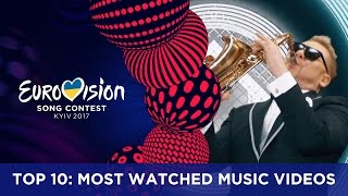 TOP 10: Most watched music videos of the 2017 Eurovision season