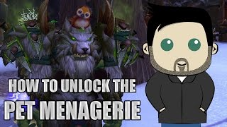 WoW with Kephas: How to Unlock the Pet Menagerie