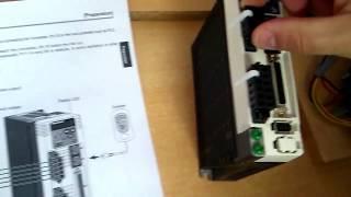 Servo Motor ve Sürücü Bağlantıları ( Bursa Coşkunöz Eğitim Vakfı) Servo motion control automation