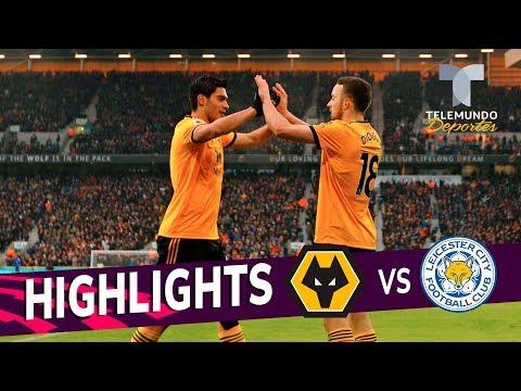 Wolverhampton vs. Leicester City: 4-3 Goals & Highlights   Premier League   Telemundo Deportes