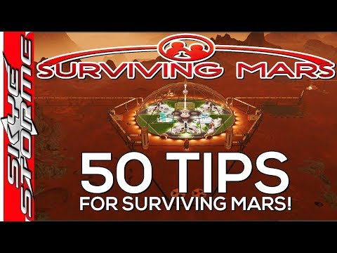 50 Tips for Surviving Mars