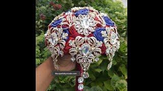 Easy DIY Brooch Bouquet L Bridal Bouquet L Wedding Project L Kit DAZZ